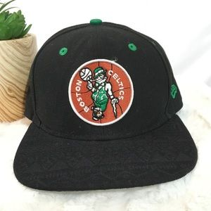 Boston Celtics hardwood classic retro snap back